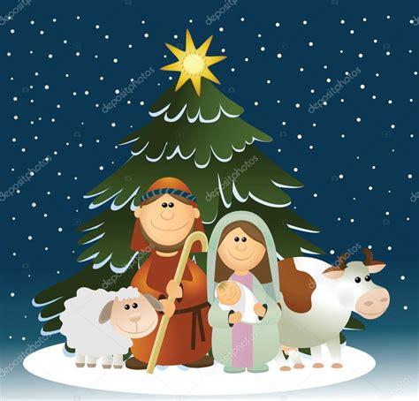 Imagenes Vectoriales De Navidad | pesebre de navidad con sagrada familia archivo im 225 genes