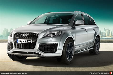 Audi Models Uk by New Q7 S Line Edition Models From Audi Uk Fourtitude