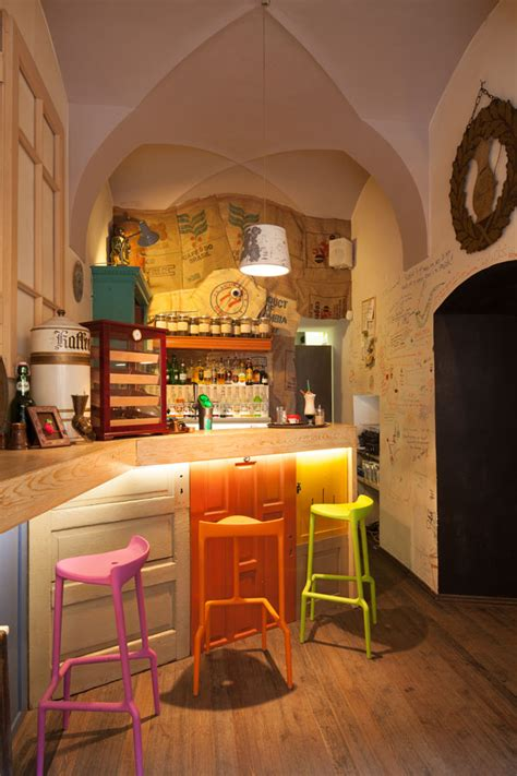Coffee Shop Style Kitchen by Eclectic Coffee Shop Design In The Of Transylvania
