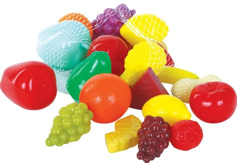 play food pretend play food 22 pieces of assorted fruit set in