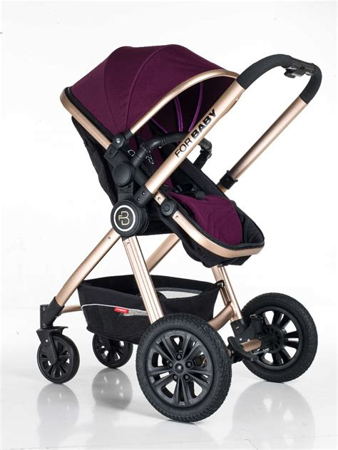 baby travel pushchair forbaby aluminum reversible system single seat