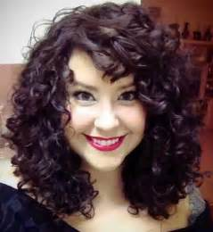 cuts for 55 year and wavy hair best 25 medium length curly hairstyles ideas on pinterest
