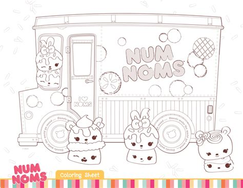 Download Fun Activities And Color Ins To Print Out And Coloring Pages Num Noms