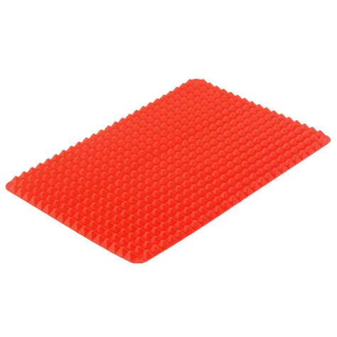 10xnon stick silicone pan baking mat mould cooking sheet