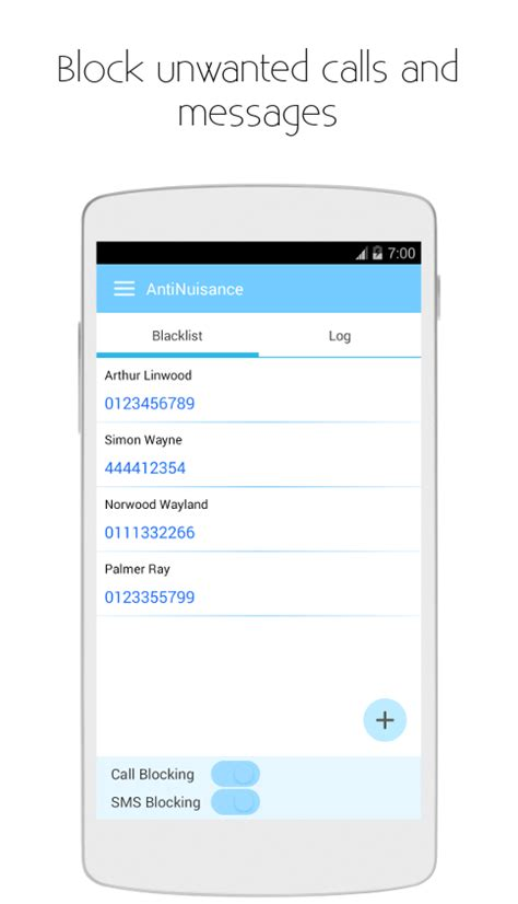 best call and text blocker app for android call blocker and sms blocker antinuisance android apps on play