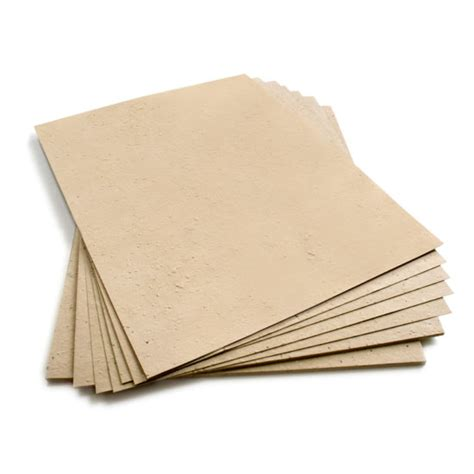 Seed Paper - 8 5 x 11 latte brown plantable seed paper 8 5 x 11