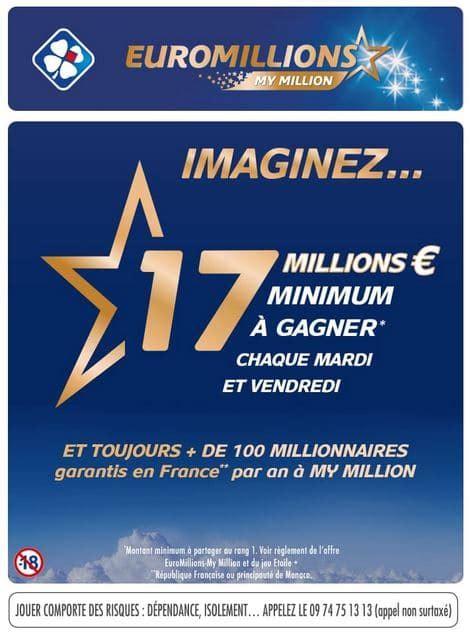 Prix Grille Euromillions by Millions My Million Shopmium 1 50 De R 233 Duction