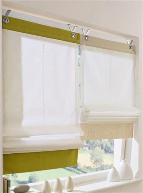 Vorhänge Direkt Am Fenster by Raffrollo 220x60 Fertigdeko Fenster Rollo Faltrollo
