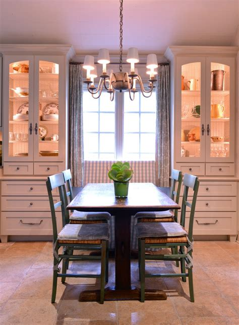 houston distressed china cabinets dining room farmhouse