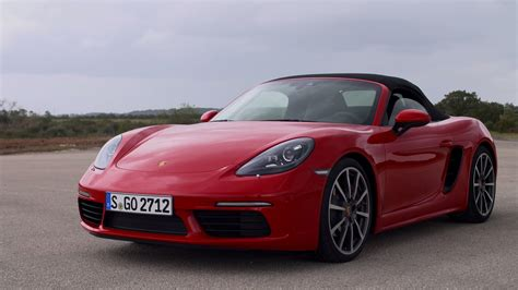 2017 Porsche 718 Boxster S Guards Red Youtube
