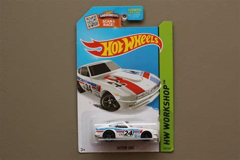 Hotwheels Datsun 240z Hw Workshop wheels 2015 hw workshop datsun 240z white