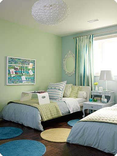 teenage bedroom wall colors theme design ideas in coastal style decor kids art