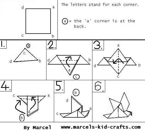 cara buat origami burung yang mudah pendidikan seni cara membuat origami burung syurga itu