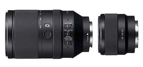 Sony Fe 55mm F 1 8 Za Lensa Kamera sony announces fe 50mm f1 8 70 300mm f4 5 5 6 lenses