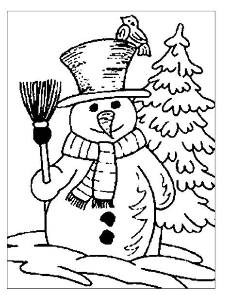 winter season coloring pages coloring part 12