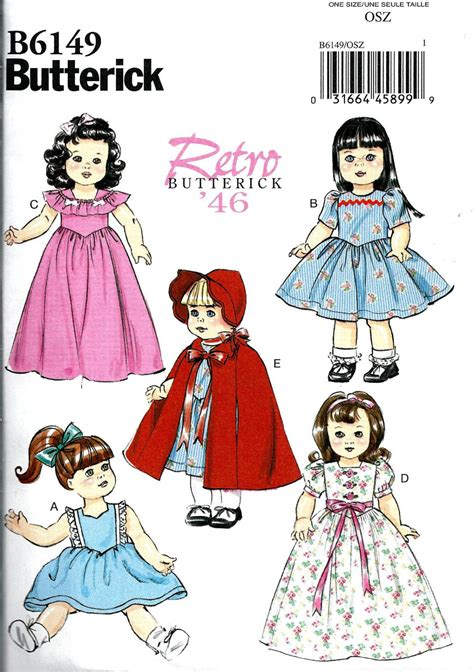clothes pattern maker online doll clothes pattern make vintage style doll clothes fits