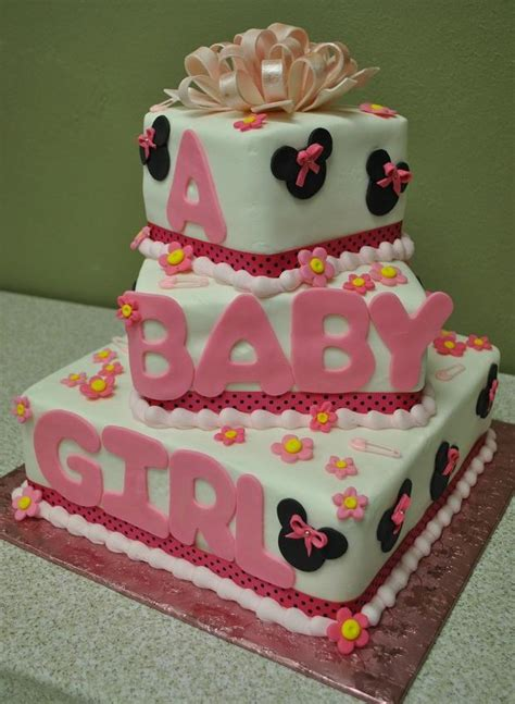 Minnie Mouse Baby Shower Cake by Minnie Mouse Baby Shower Cake Torte Per Bambini Baby Showers Looking For