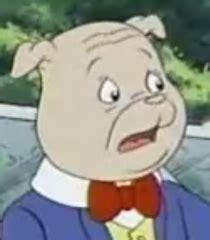 algy pug voice of algy pug rupert the voice actors