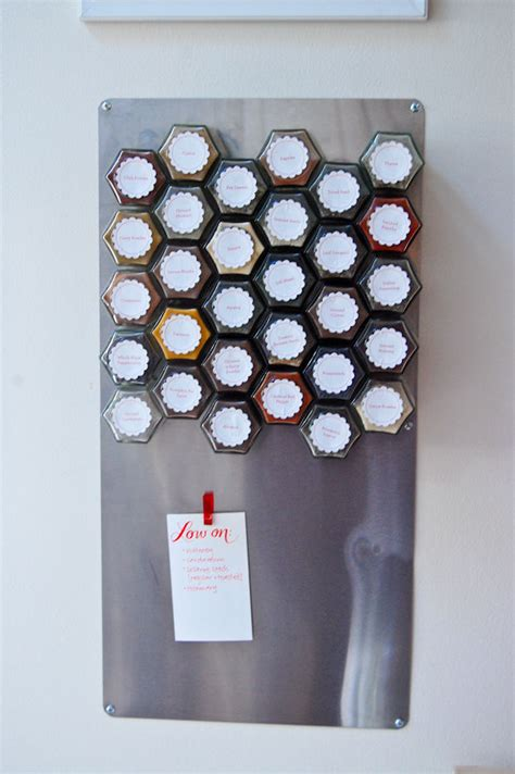 How To Make A Magnetic Spice Rack magnetic spice rack pictures photos and images for