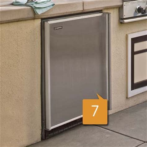 Outdoor Kitchen Refrigerator by Refrigerator Dollar Smart Plan For An Outdoor