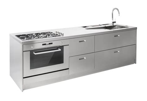 cucina acciaio prezzi stunning cucine in acciaio inox prezzi pictures