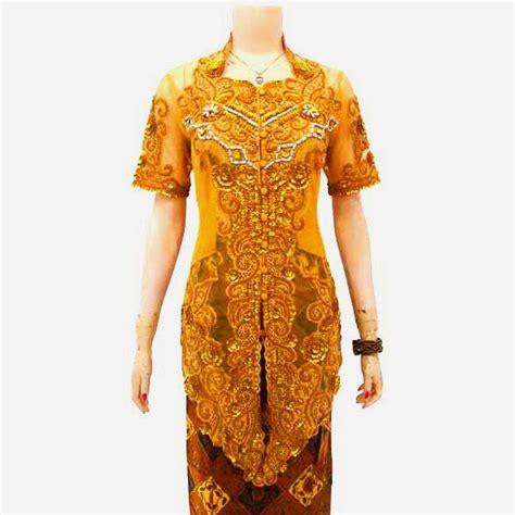 Atasan Kebaya Payet Lengan Panjang 1 kebaya batik modern kode kbw 124 batik bagoes