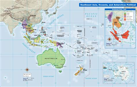political map of se asia mapping