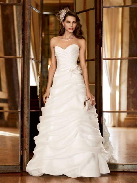 wedding dress alterations huntington ca david s bridal galina signature sweetheart strapless organza size 12 wedding dress oncewed