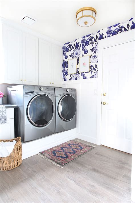 park home reno laundry room makeover clutter