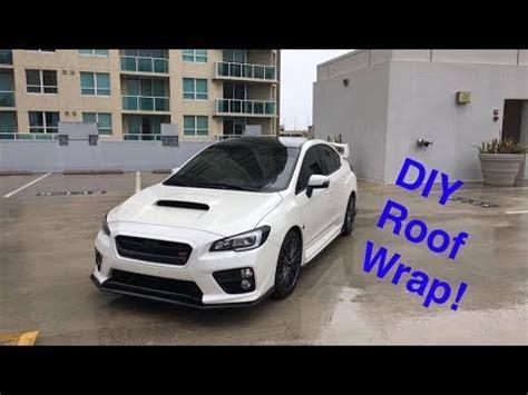 wrx sti diy roof  antenna wrap premium auto