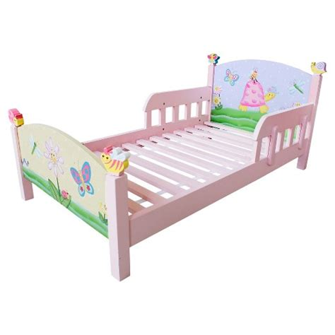 target toddler bed fantasy fields magic garden toddler bed teamson target