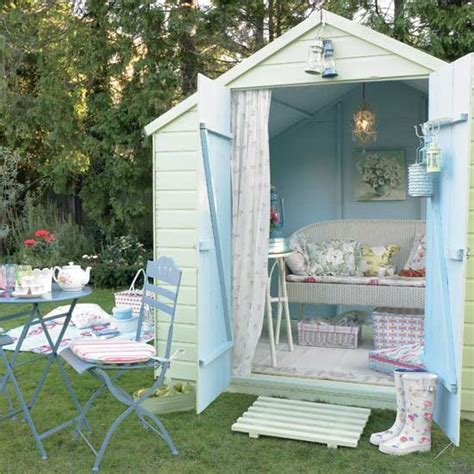 Shed Retreats by Soft Green And Blue Garden Shed Green And Blue Colour