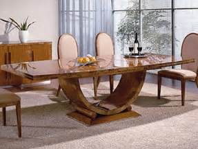Home Furniture By Design Modern And Stylish Rectangle Dining Table Design For Home