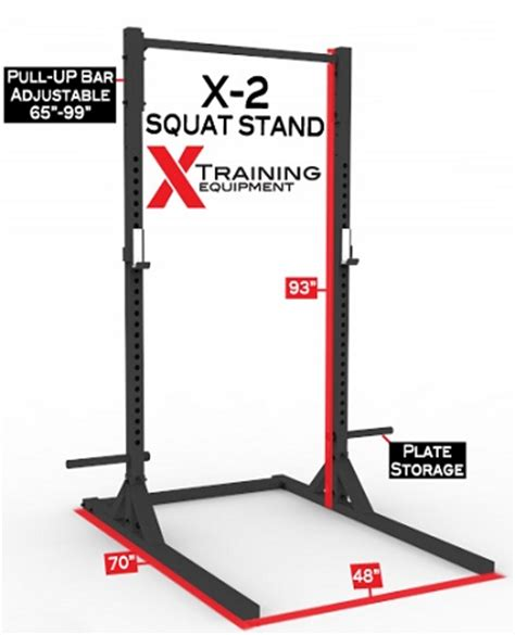 squat rack free shipping x 2 elite series squat stand with pull up bar free shipping