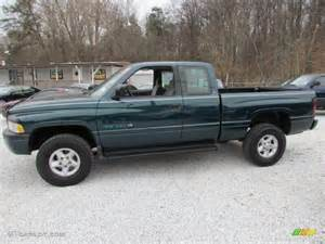 spruce green pearl 1996 dodge ram 1500 st extended cab 4x4