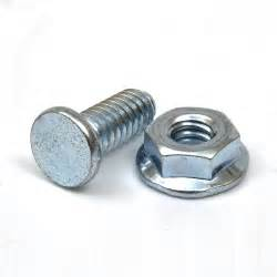 buy garage door track bolts and serrated flange nuts 1 4