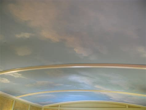 Cloud Decals For Ceiling by Cloud Ceiling Murals And Painted Phrases Paradise