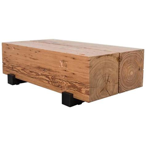 reclaimed beam coffee table beam coffee table by uhuru design reclaimed wood