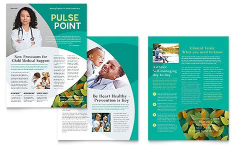 healthcare newsletter templates health care newsletter templates word