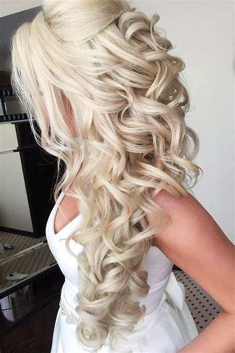 42 half up half down wedding hairstyles ideas wedding