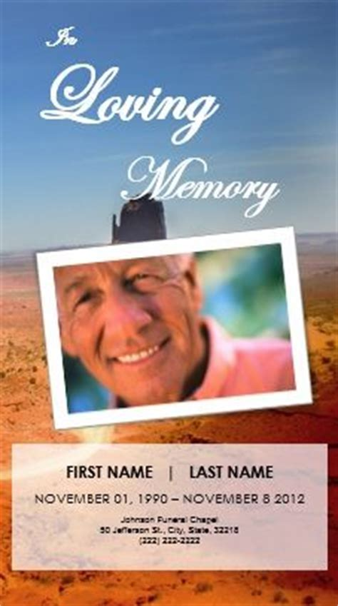 tarpaulin layout design for death 1000 images about printable funeral program templates on