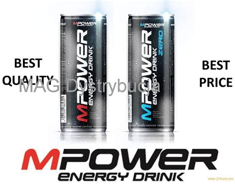 0 energy drink mpower energy drink 0 25l snd 1l best price products