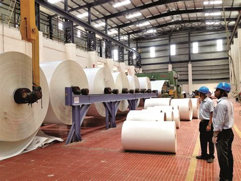 Paper Industry - feature the indian paper industry all ready to rise on a