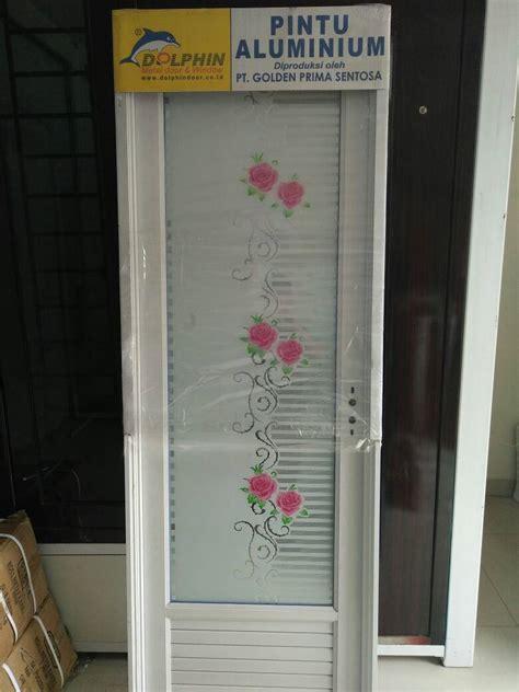 Stiker Dapur Dolphin Ay3024 Berkualitas jual pintu kamar mandi alumunium dolphin pt golden prima sentosa