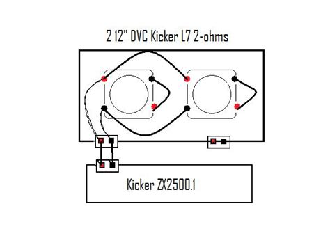 kicker l7 wiring diagram 1 ohm pair subs wiring diagram get free image about wiring diagram
