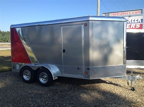series trailer aluminum cargo trailer vdc platinum series rnr trailers