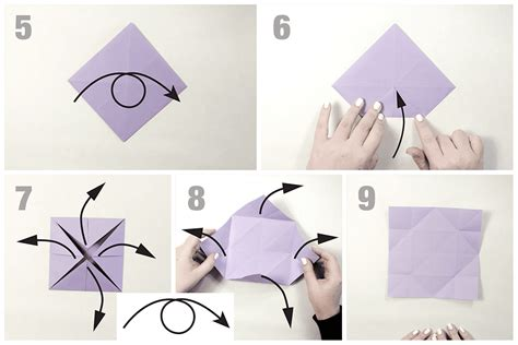 How To Fold Origami Butterfly - how to make an easy origami butterfly