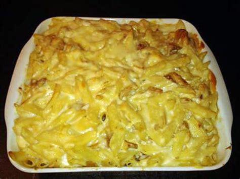 recette de gratin de p 194 tes au poulet