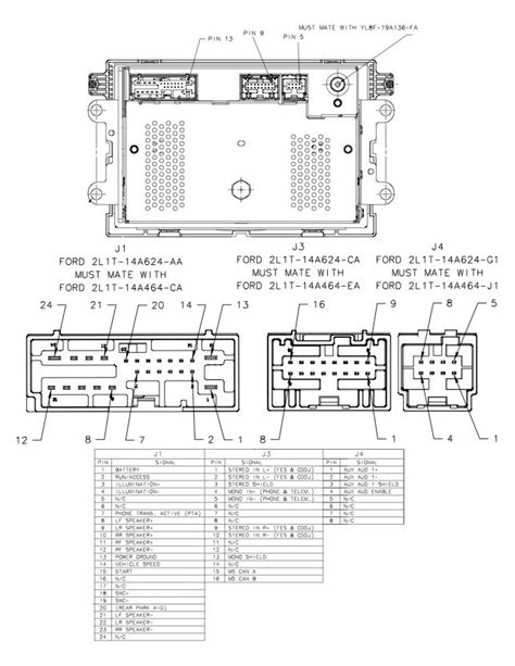 stereo wiring diagram for 1997 expedition wiring wiring