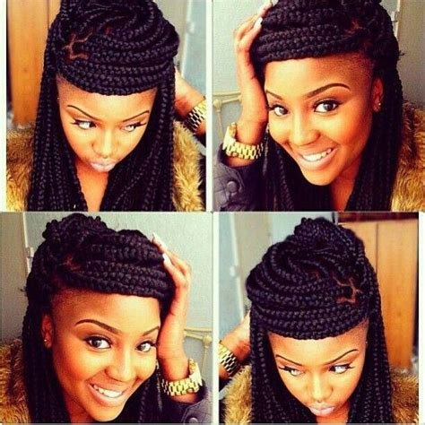 ways to pack braids how to style box braids 50 stunning ideas from pinterest
